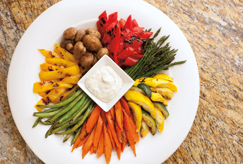 Catering_Plate-of-Grilled-Vegies